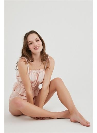 Penti Kadın  Pijama Takımı  Ana Kumaş Vıscose 100,00 Ana Kumaş Vıscose 100,00   Pembe